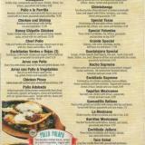 Don Patron menu