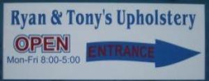 Ryan and Tony's Upholstery