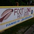 Eddie's Footlong Hot Dogs