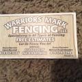 Warriors Mark Fencing LLC