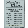 Pacifico Bakery Outlet Store