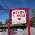 Bickel's Surplus Too