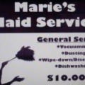 Marie's Maid Service