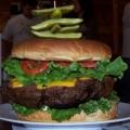 Denny's Beer Barrel Burger Challenge